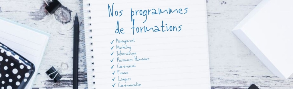 Programme de formations S-Formations