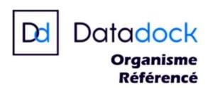 certifications datadock S-FORMATIONS
